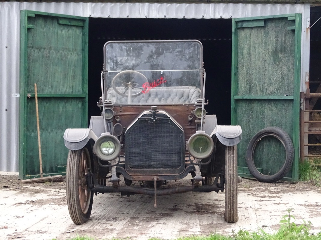 1912 Buick Model 35C Tourer emerges from barn | H&H Classics photos