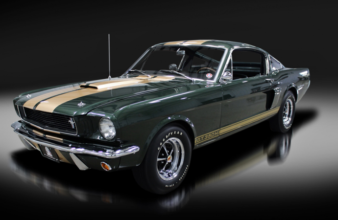 Countdown to Barrett-Jackson Northeast 2017: 1966 Shelby GT350-H