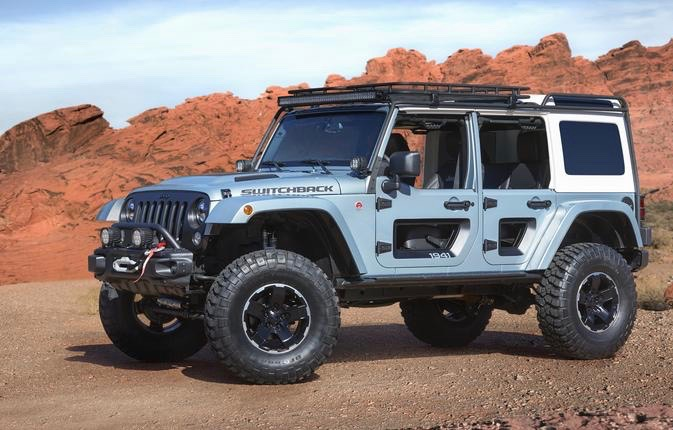 Jeep Switchback off-road concept will be at FCA event | FCA photos
