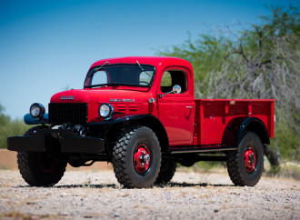 Countdown to Barrett-Jackson Northeast 2017: 1947 Dodge Power Wagon Pickup