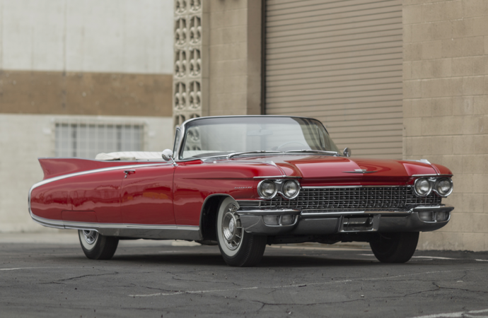 Countdown to Barrett-Jackson Northeast 2017: 1960 Cadillac Series 62 convertible