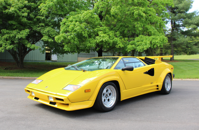 Countdown to Barrett-Jackson Northeast 2017: 1988 Lamborghini Countach 500 Quattrovalvole