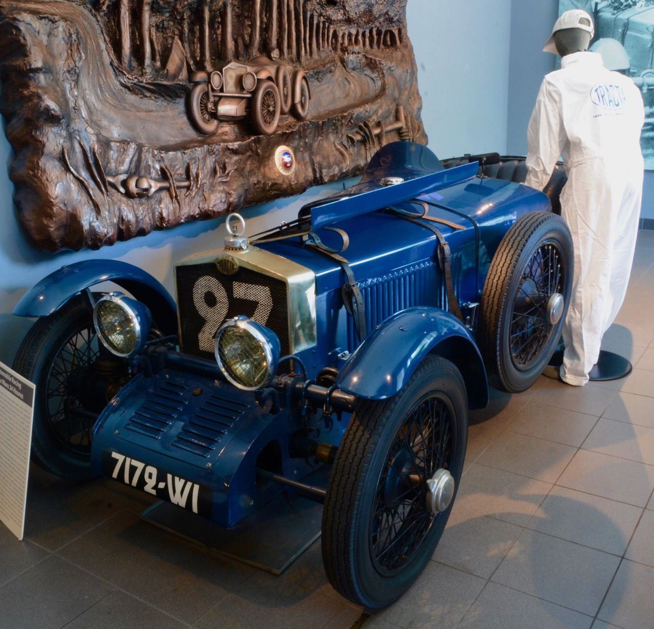 1929 Tracta A roadster, one of two, finished first in class at Le Mans | Jim McCraw photos,