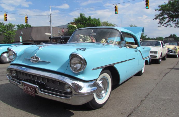 GM's hometown car show spreads across Michigan