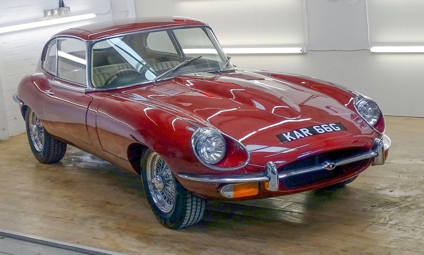 After 40 years undriven, this E-type is again road ready | H&H Classics photos