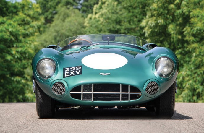Aston Martin racing stars going to RM Sotheby's Monterey sale