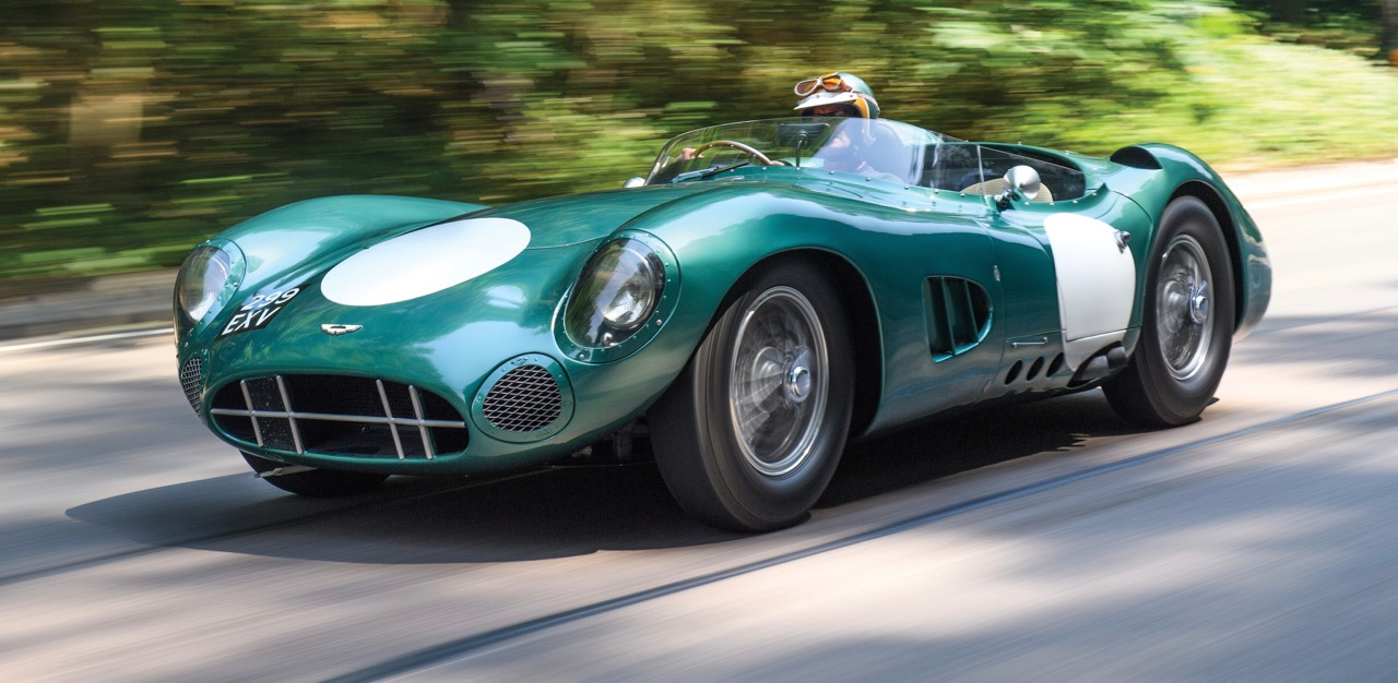 DBR1 Chassis 1 was the prototype for the Aston Martin that won at Le Mans in 1959 | RM Sotheby's photo by Tim Scott