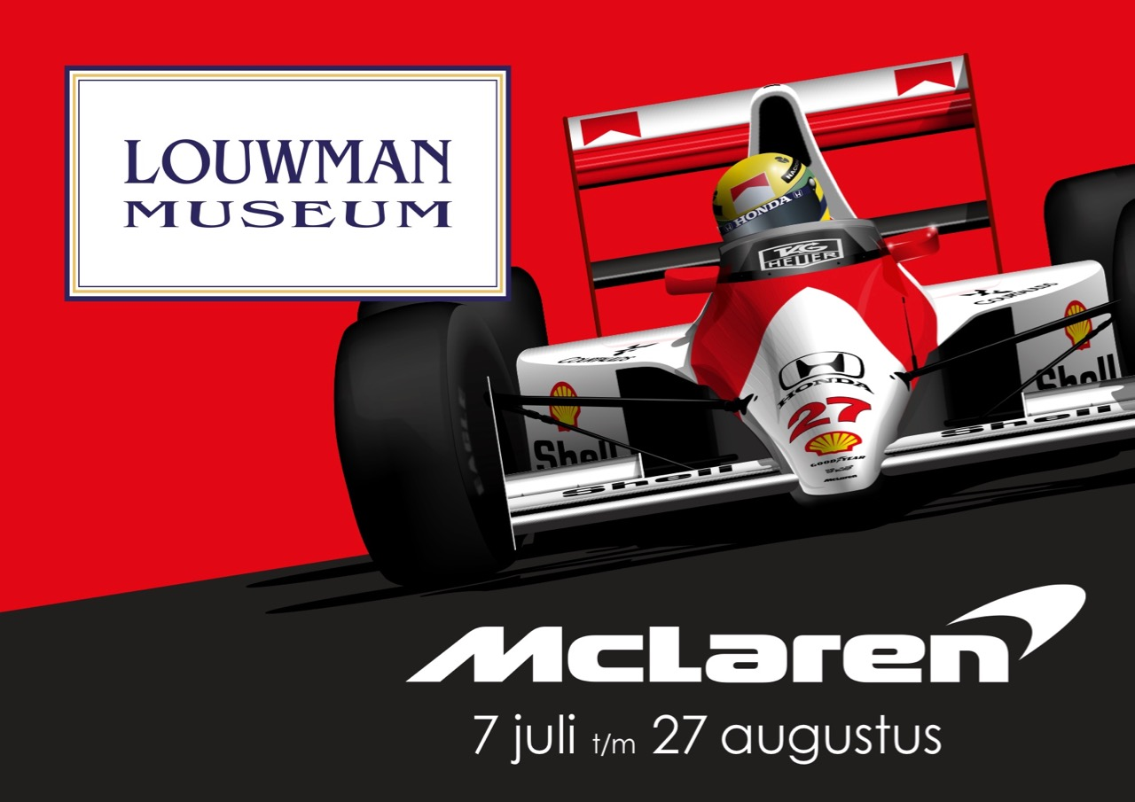 Dutch museum will exhibit 16 McLaren cars