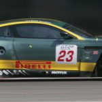 The highly competitive 2006 Aston Martin DBR9 completes the marque's racing heritage lineup set for Monterey_Courtesy of LAT Photographic