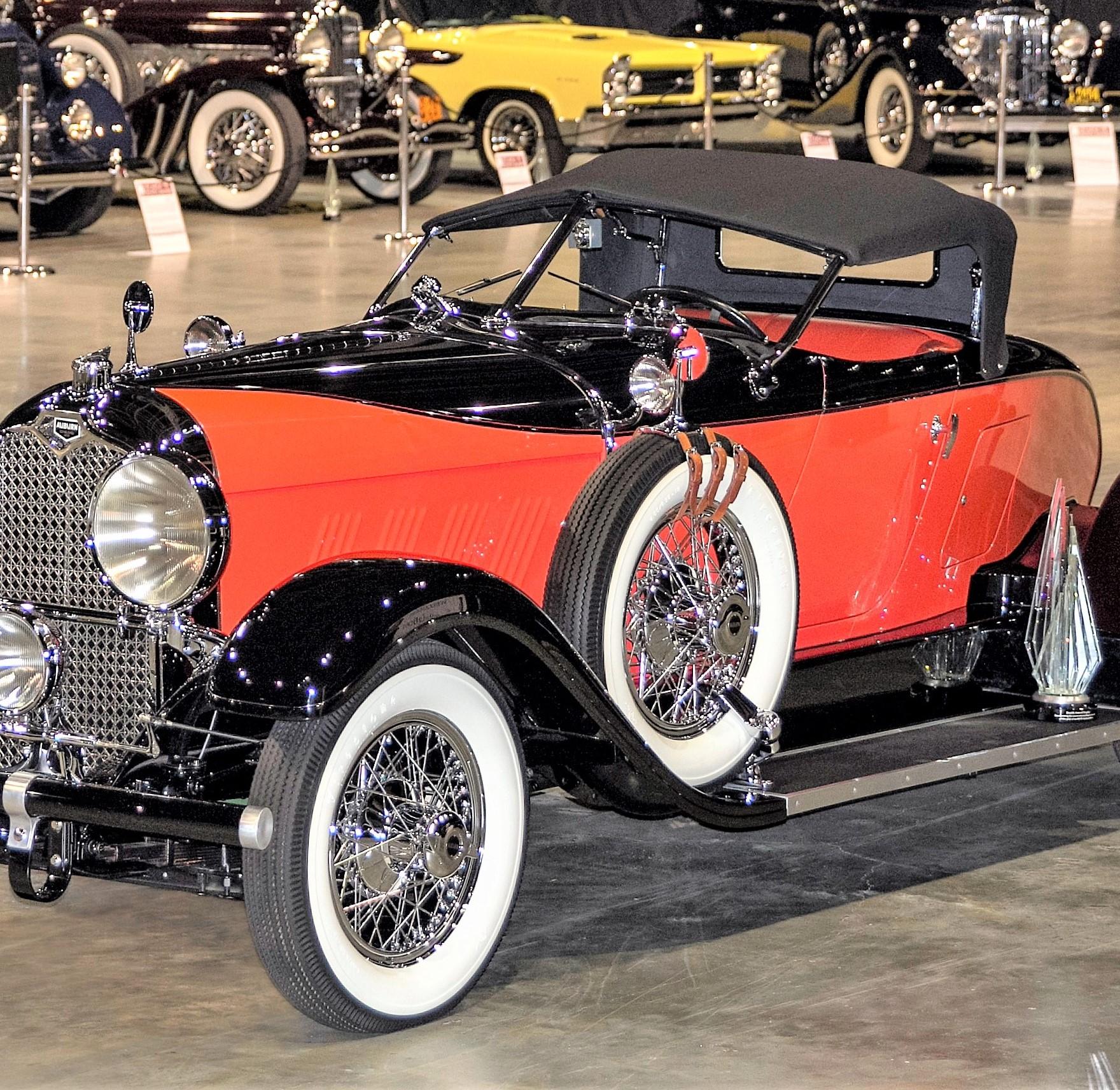 1928 Auburn Speedster Wins Inaugural AACA Restoration