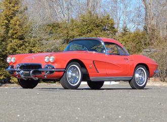 Countdown to Barrett-Jackson Northeast 2017: 1962 Chevrolet Corvette 327/360 convertible