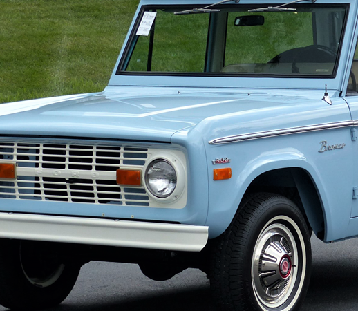 Ford Bronco ascends to top spot in classic car valuation gains