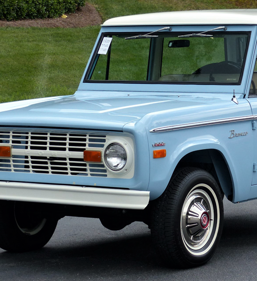 Ford Bronco Ascends To Top Spot In Classic Car Valuation Gains - Classic car valuation
