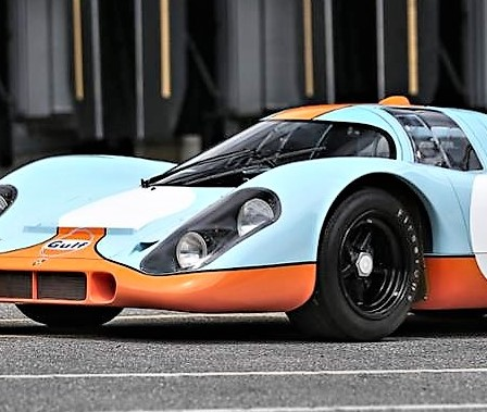 Historic Porsche 917K, a 'Le Mans' film star, offered by Gooding