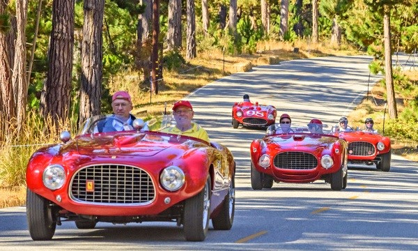 Early Ferrari Barchettas relive Pebblee Beach racing | Pebble Beach Concours