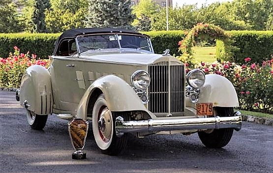 The Hershey-winning 1934 Packard 1106 Speedster Elegance at Hershey