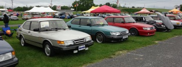 Saab owners turn out in large numbers