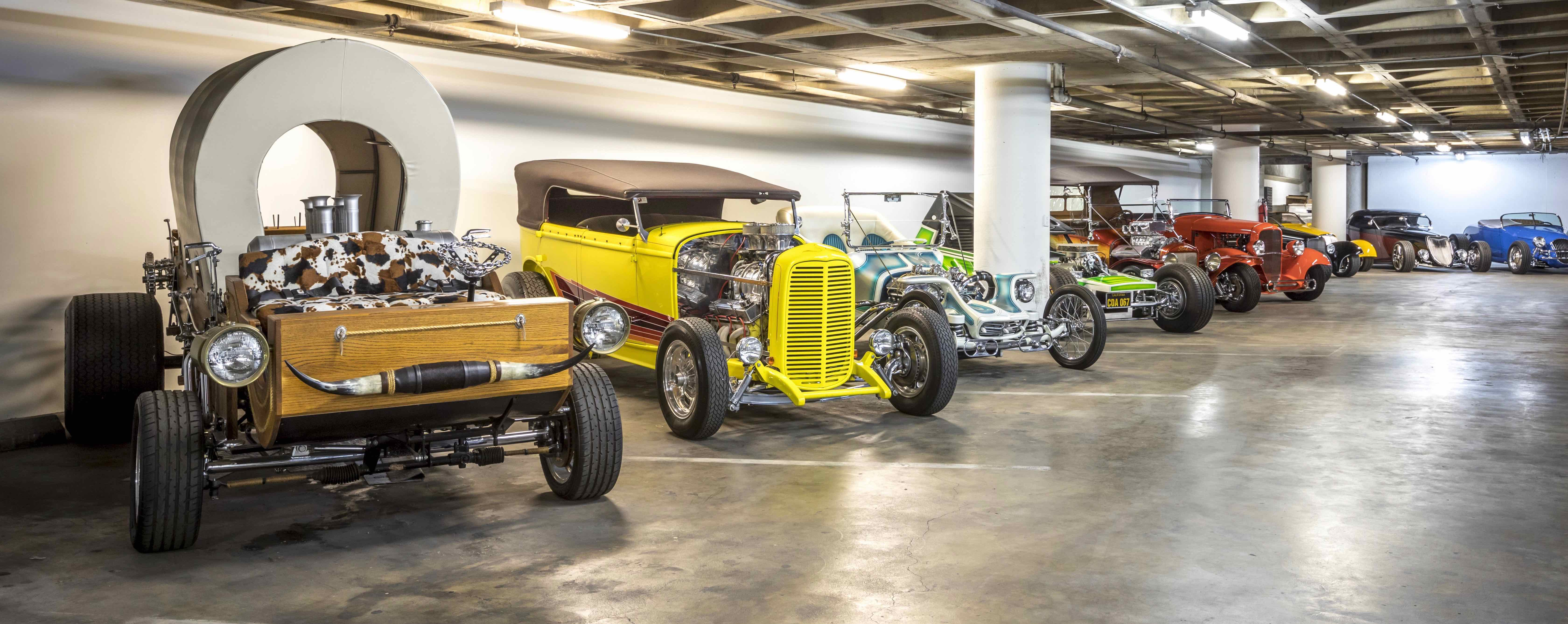 AMBR winners and other hot rods lined up for Petersen museum exhibit | Petersen photos by Ted7