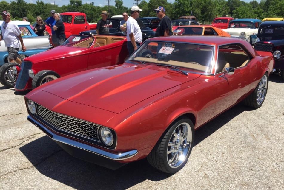 1968 Chevrolet Camaro takes FAST Revolution award in Missouri   NSRA photos