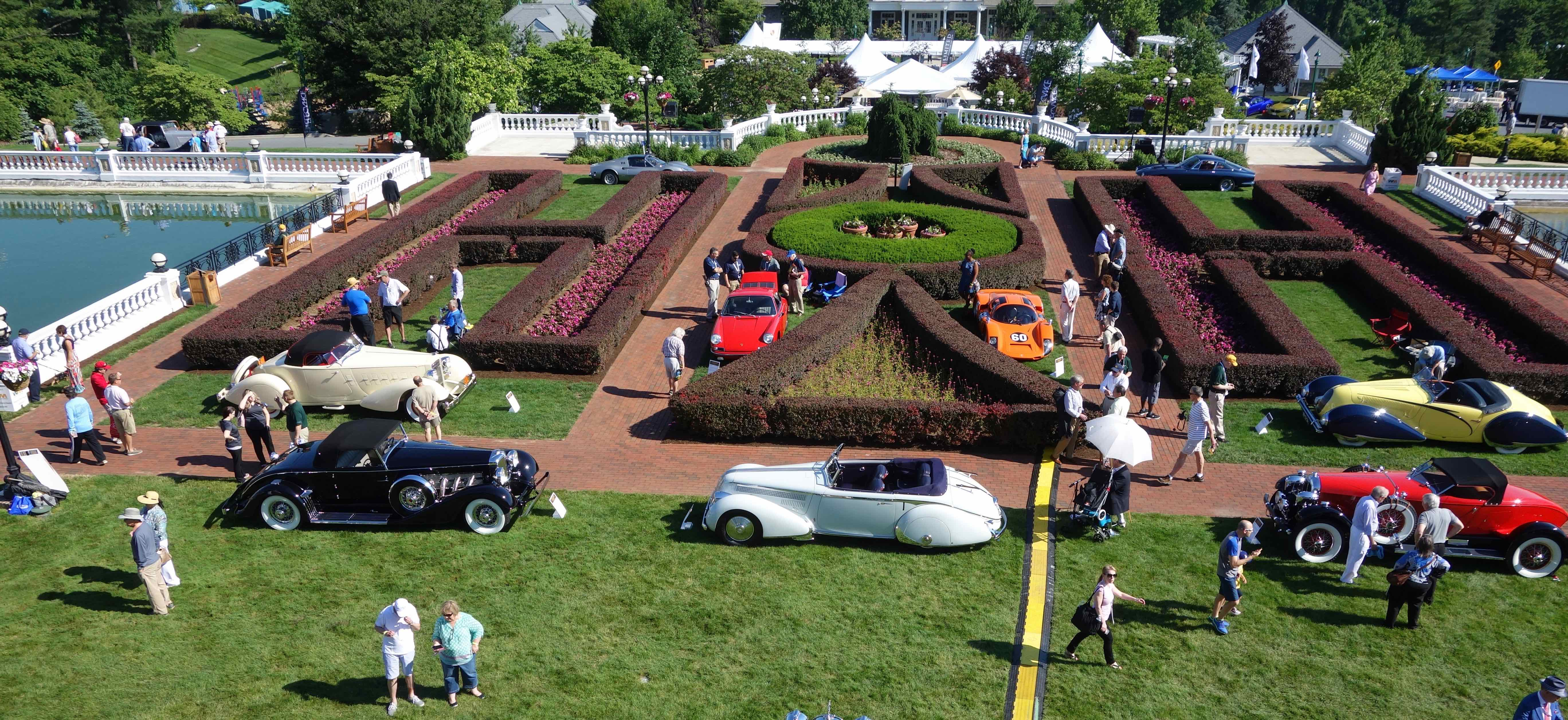 Cars on the lawn at the Hotel Hershey for The Elegance at Hershey concours -- and more | Andy Reid photos