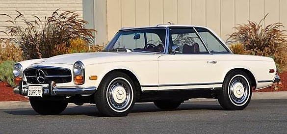 1971 Mercedes-Benz 280 SL 4-speed convertible