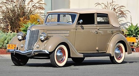 1936 Ford V8 convertible