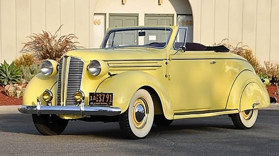 1937 Dodge convertible