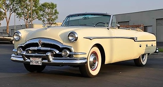 1953 Packard Caribbean Custom Convertible