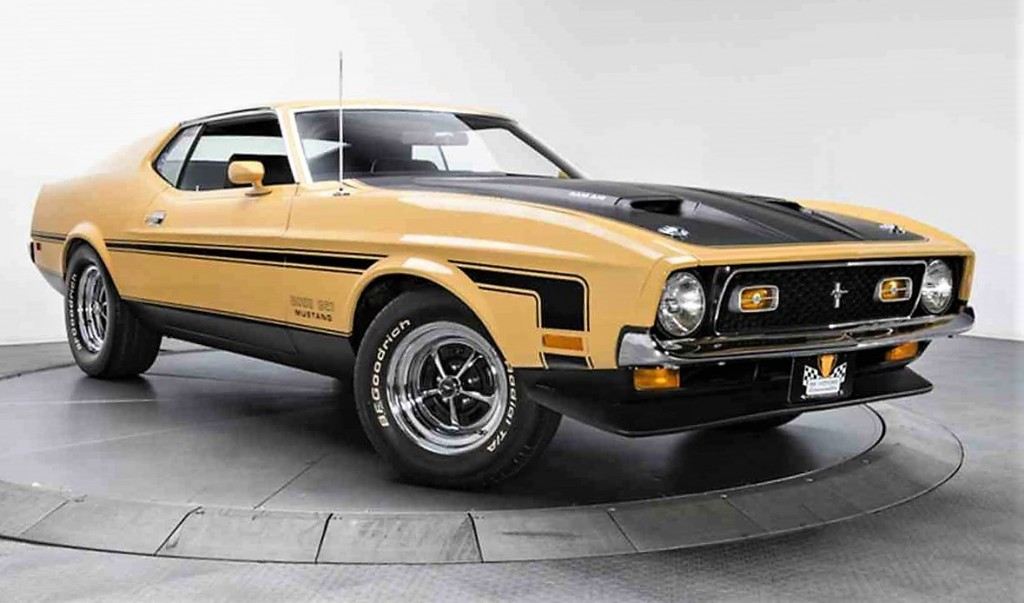 The Mustang Boss 351 is said to be thoroughly and correctly restored