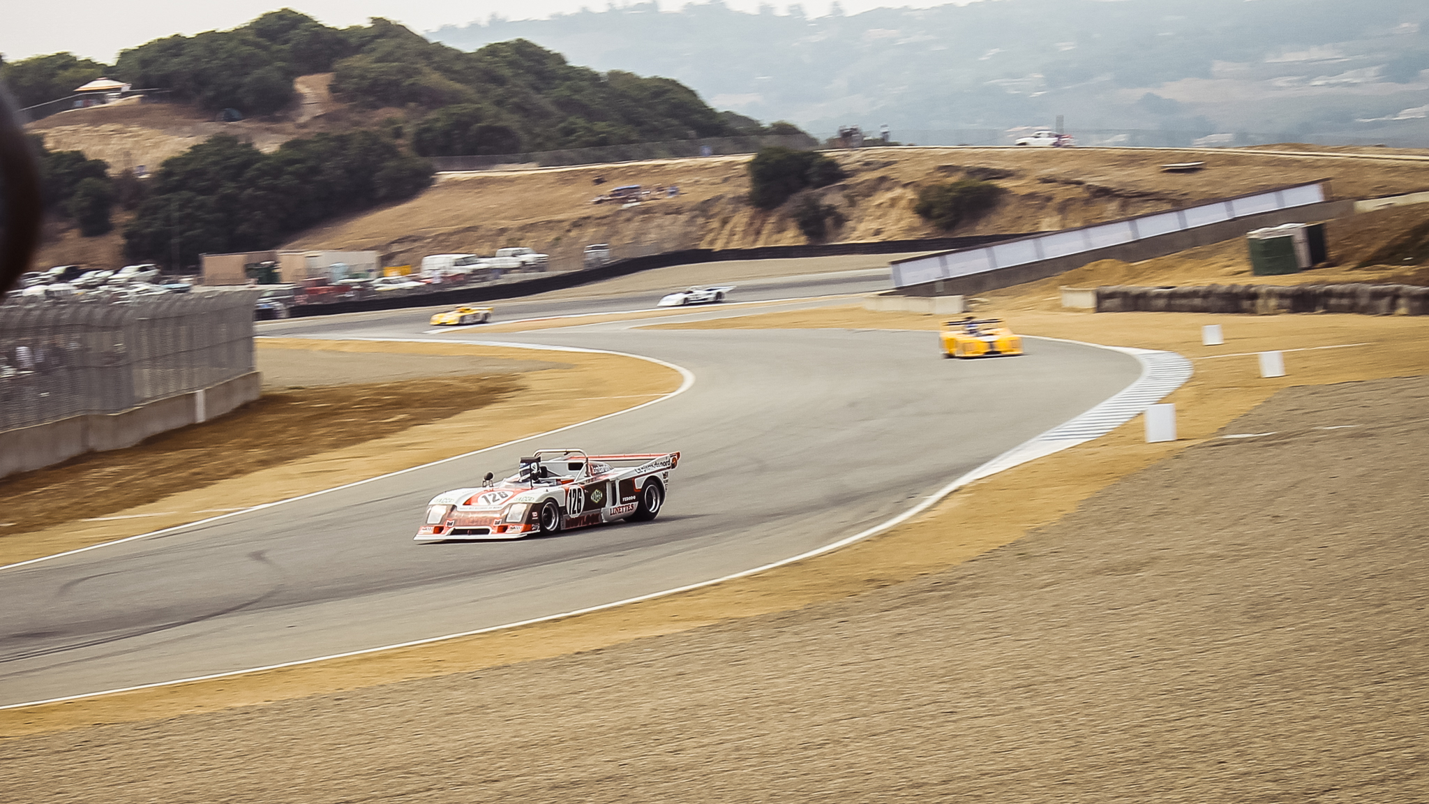 Vintage racers at Laguna Seca during 7th Motorsports Reunion | Nicole James photo