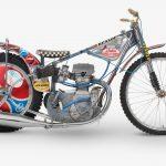 The ex-Ivan Mauger 1977 World Speedway Championship Winning Jawa Speedway Racing Motorcycle