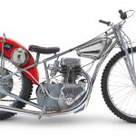 a gift from Newcastle Diamonds 1972 ESO Speedway Racing Motorcycle