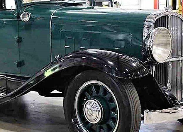 1931 Franklin Model 153 sedan