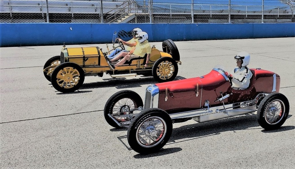 Millers at Milwaukee provides mile of smiles in vintage Indy cars ...