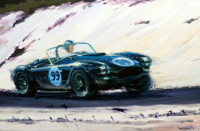 Automotive fine artists preview Pebble Beach gallery