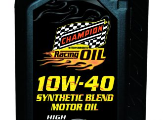 Champion Brands creates new 10W-40 Racing Motor Oil