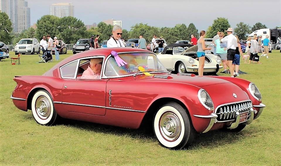 People's Choice last year at Milwaukee Concours, the 1954 Chevrolet Corvette concept| Milwaukee Concours
