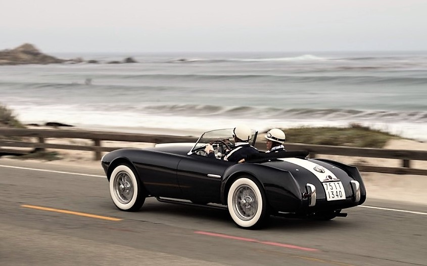 1954 Siata Spyder in the Pebble Beach Tour | Larry Edsall