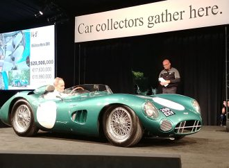 Car star power boosts auction action on Monterey Peninsula