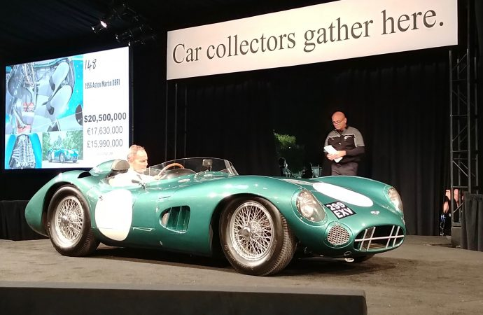 Sports cars from 1950s and '60s top another big Monterey auction week