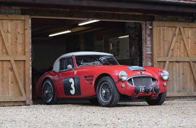Rally cars featured at Bonhams' Goodwood Revival auction