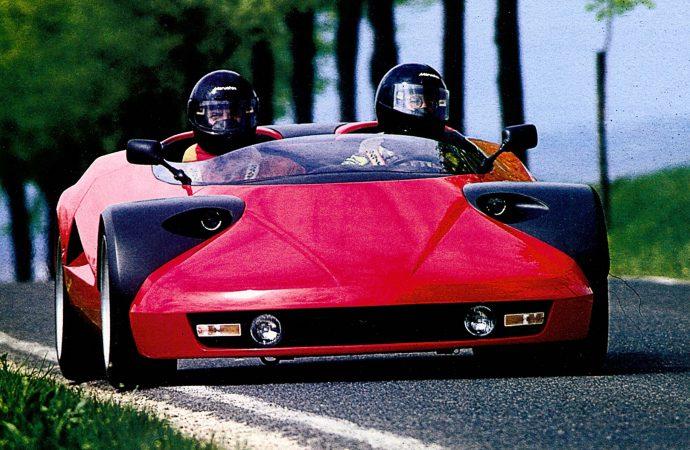 Ferrari-based Conciso concept car on Bonhams' Chantilly docket