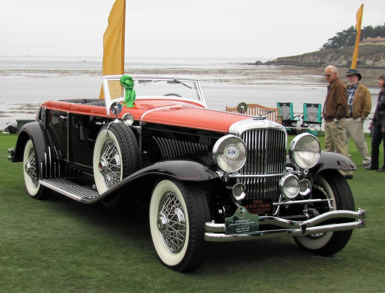 1934 Duesenberg Model J at Pebble Beach | Bob Golfen