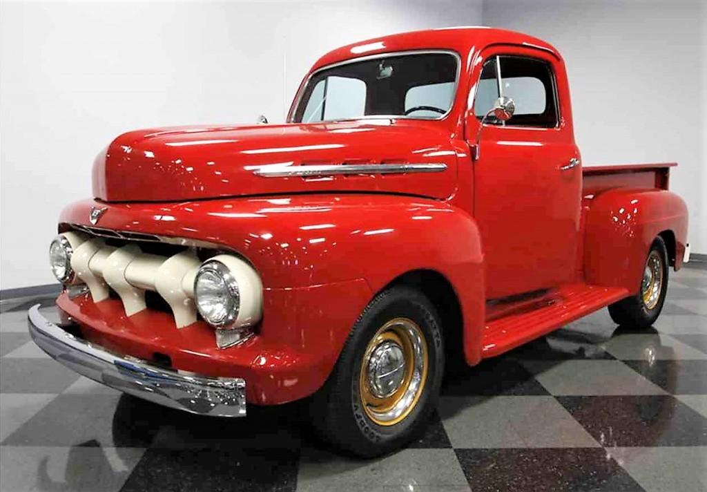 1951 ford f1 pickup truck journal. Black Bedroom Furniture Sets. Home Design Ideas
