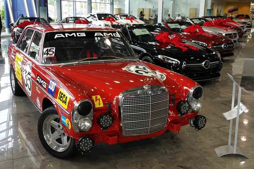 Pick Of The Day 1969 Mercedes Benz 280s Classiccars Com