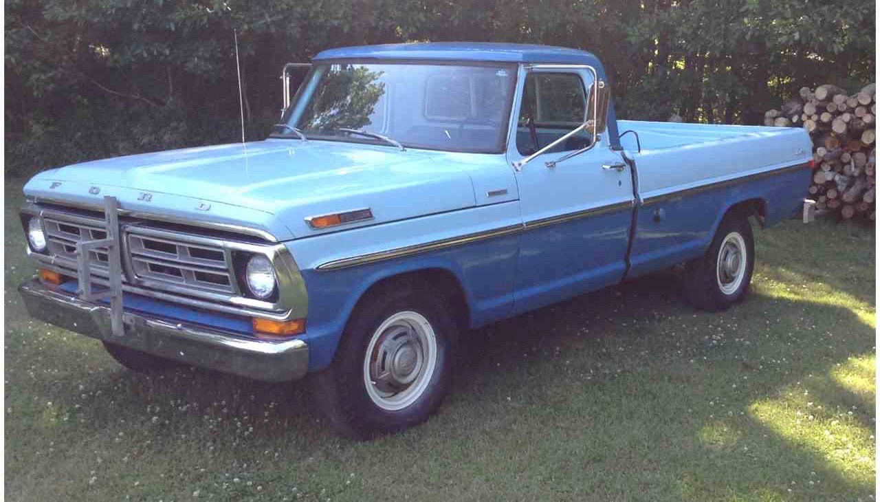 1972 Ford Truck Wiring : Ford truck parts autos post