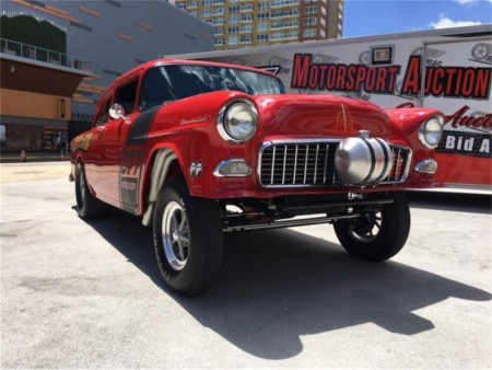 1955 Chevrolet Bel Air turned street gasser