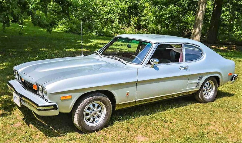 Pick Of The Day 1974 Mercury Capri Classiccars Com Journal
