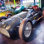 Pic by Samantha Cook Photography 05March15.  Opening of two motor sport displays; Grand Prix Greats and Road, Race and Rally, collectively known as A Chequered History.