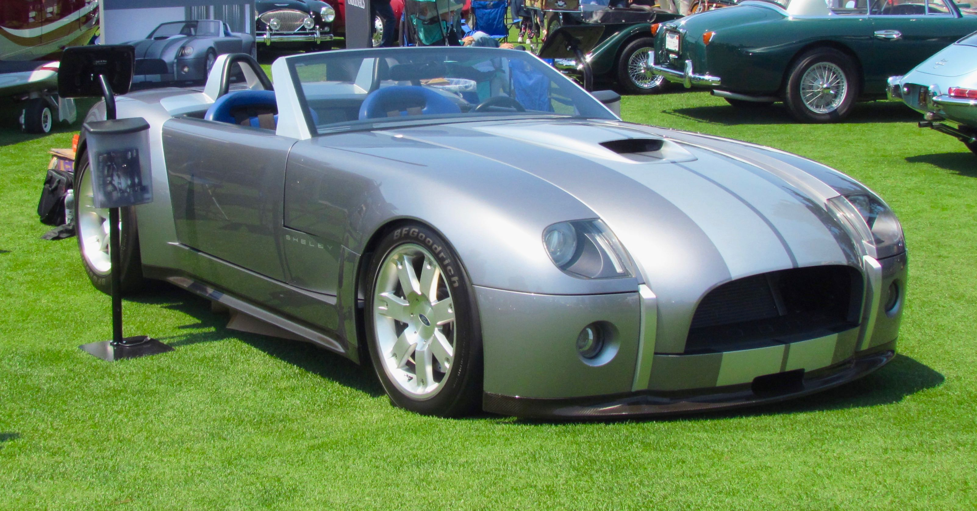 V10 Powered Ford Shelby Cobra Concept Up For Bidding In